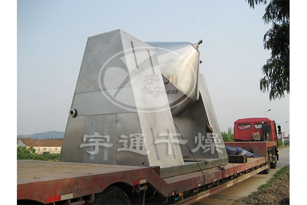 Carrageenan special double cone rotary vacuum dryer production line